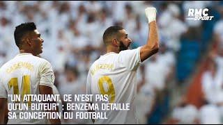 """""""Un attaquant, ce n'est pas qu'un buteur"""" : Benzema détaille sa conception du foot (Transversales)"""