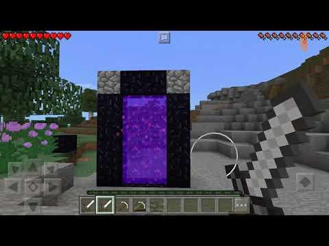 HNT CÁCH LÀM CÁNH CỔNG MỚI ĐẶC BIỆT TRONG MINECRAFT POCKET EDITION  Minecraft PE HNT Channel New 33