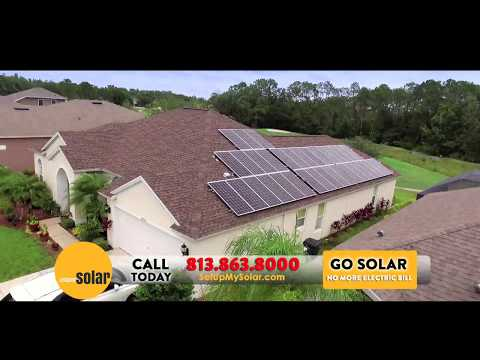 Go Solar Tampa & Save - Solar PV Solar Panels - Tampa, Florida