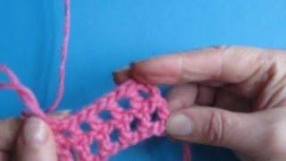 Вязание крючком - Урок 27. Филейная сетка