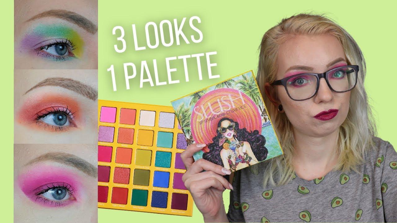 September Rose Slush Palette ? 3 Looks 1 Palette | Abby Hoang