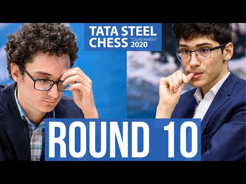 Tata Steel Chess Round 10 with GM Peter Leko and IM Sopiko Guramishvili