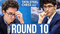 First Carlsen, Now Caruana? Tough Matchups for Firouzja! | Tata Steel Chess 2020