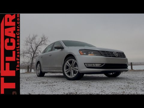 2015 VW Passat Review: A Big, Roomy & Peppy family Sedan