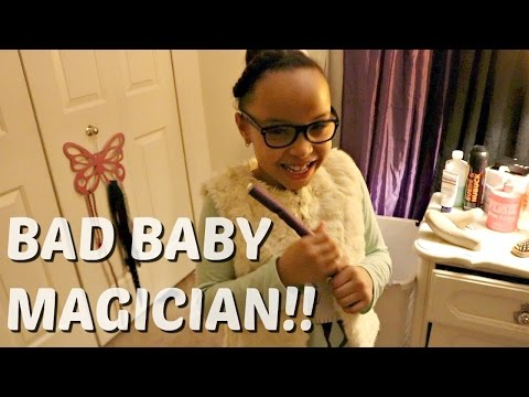 The Magician Bad Baby Zaria / Disappearing and Teleporting