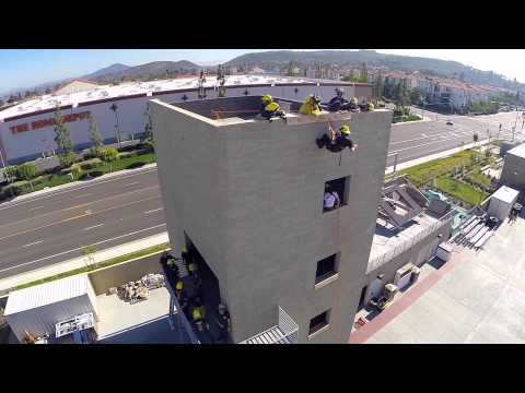 Miramar College Fire Technology Rappelling