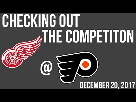 Checking out the competition: Detroit Red Wings with Kyle McIlmurray