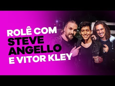 Rolê com Steve Angello e Vitor Kley