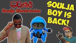 Soulja Boy Is Back! New Website & New Products! Soulja Electronics!