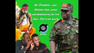 Sierra Leone rapper cry publicly as government official beat and detained him