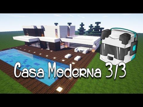 Como hacer una casa moderna en minecraft doovi for Casa moderna lyna