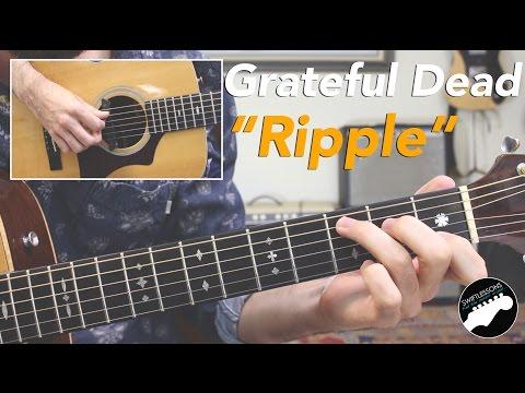 """Grateful Dead """"Ripple"""" Acoustic Guitar Lesson"""