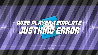 Hola Viz Template by JustKing Error   Avee Player Template   Ronybaik