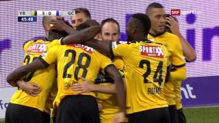 Young Boys - Grasshoppers 5:0 26.10.2016
