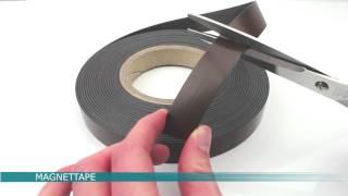 Magnetbånd/magnettape/magnetic strip fra Larko Magnet