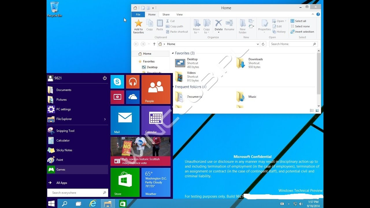 Download windows 9 operating system.