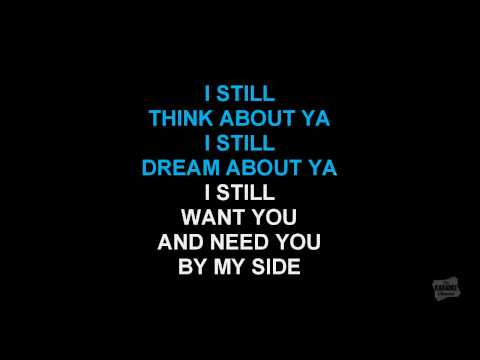 Still in the style of Brian McKnight karaoke video with lyrics