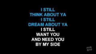 Still in the style of Brian McKnight karaoke video with lyrics