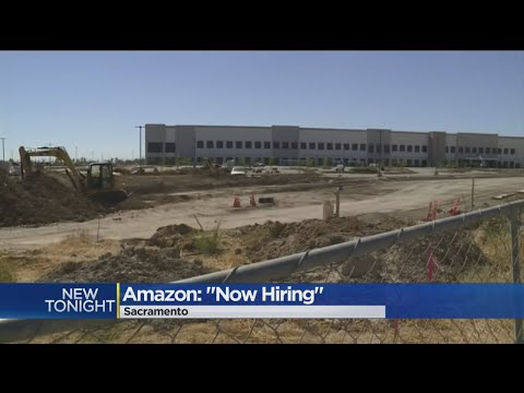 Amazon Warehouse Opens 1,500 Positions For Applications In Sacramento