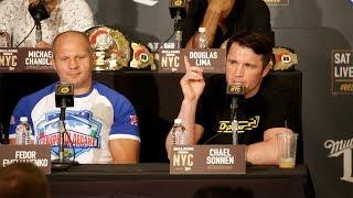 The Full Bellator NYC- Chael Sonnen vs. Wanderlei Silva Press Conference Video thumbnail