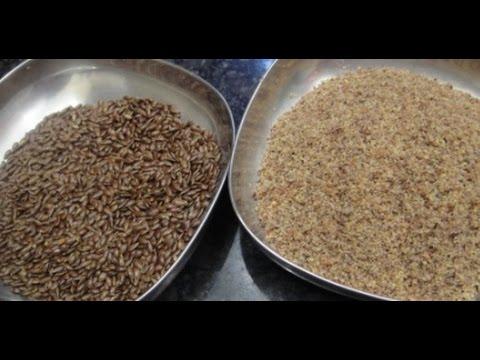 How to use Flax seeds | Health tip in Tamil with English subtitle | Gowri Samayalarai