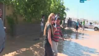 صبايا الخير |  ريهام سعيد تتفاجئ بثعبان تحت قدمها في رأس غارب..!
