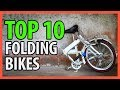 ⭐️✔️ 10 Best Folding Bikes 2019 👍🏻⭐️