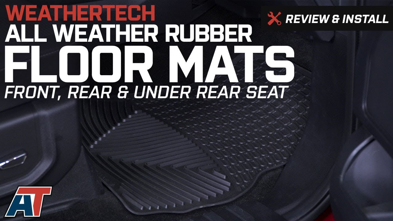 How to unlock weathertech floor mats - 2015 2017 F150 Weathertech All Weather Front Rear Under Rear Seat Floor Mats Review Install