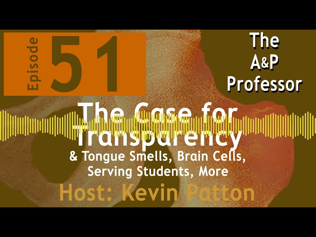 The Case for Transparency | TAPP Radio Episode 51