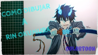 Como dibujar a RIN OKUMURA (Ao no Exorcist) / HOW TO DRAW RIN OKUMURA