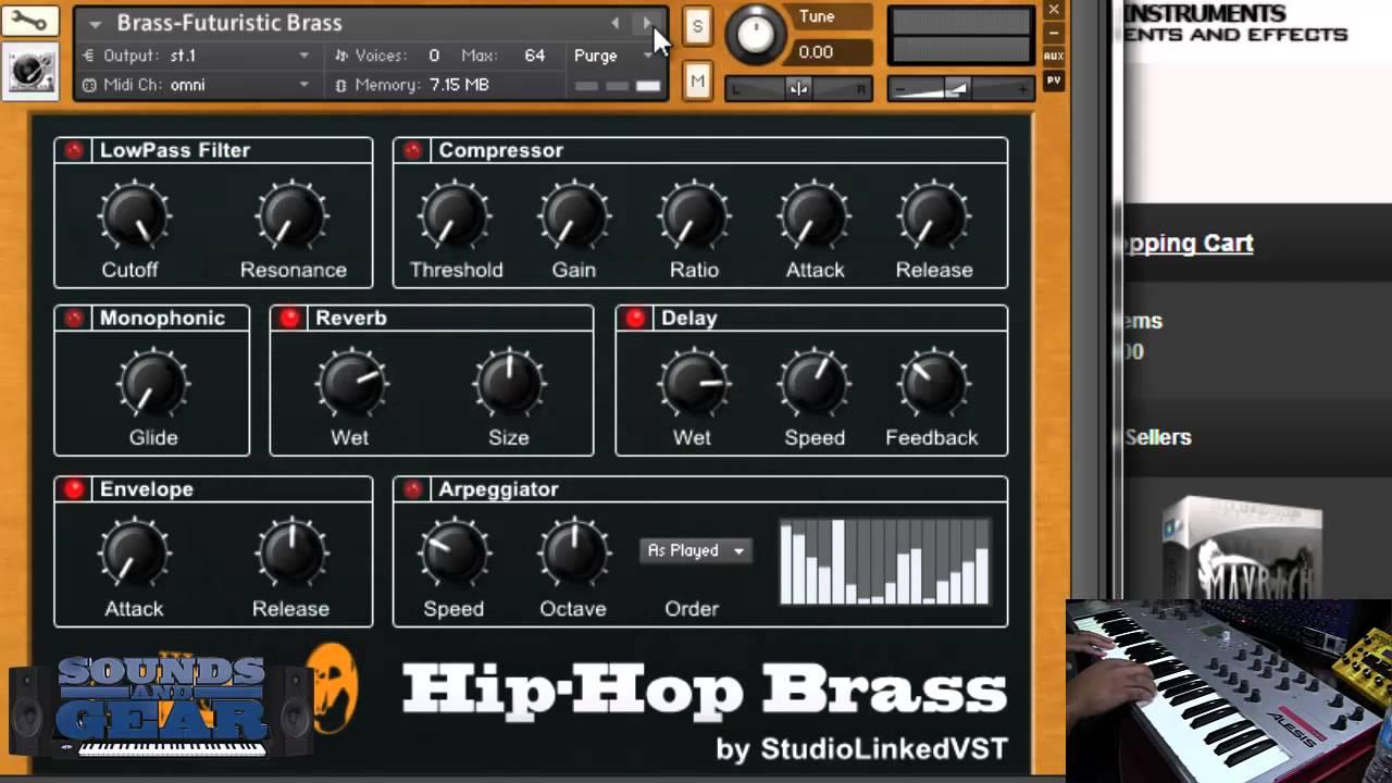hip hop brass kontakt