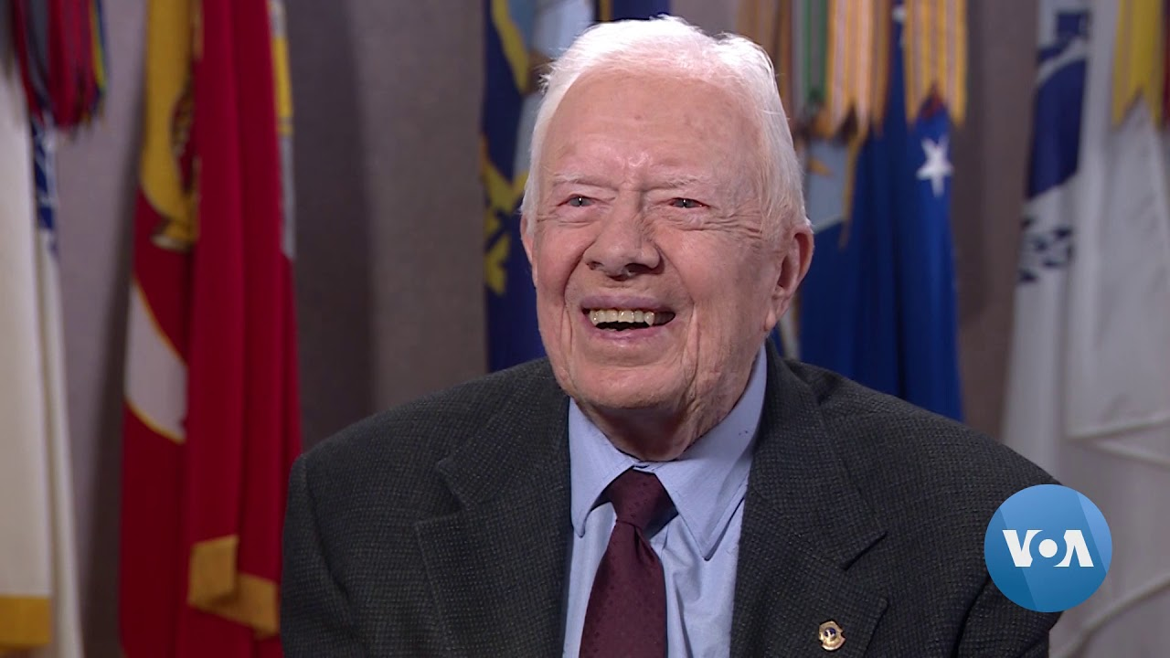 President Jimmy Carter Interview September 2019 - YouTube