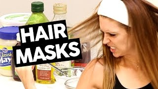 12 BEST DIY HAIR MASK INGREDIENTS FOR DRY, DAMAGED HAIR! (LISTED)