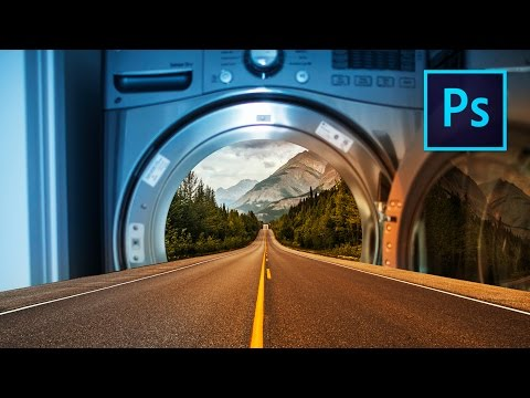 Create a FANTASY COMPOSITE in Photoshop!! - Abstract Photography