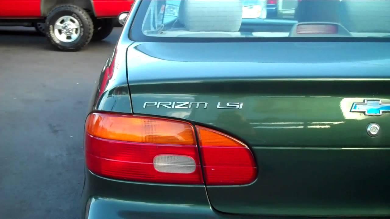 2000 chevy prizm lsi sedan sold  [ 1280 x 720 Pixel ]