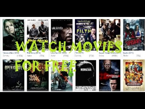 FREE MOVIES TOP 5 FREE MOVIE STREAMING SITES