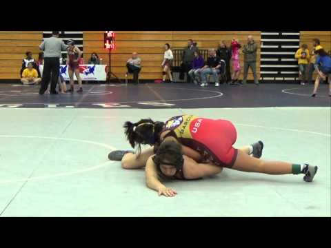 117 lbs Finals - Maddy Tung (Titan Mercury) vs. Gabrielle Garcia (Titan Mercury)