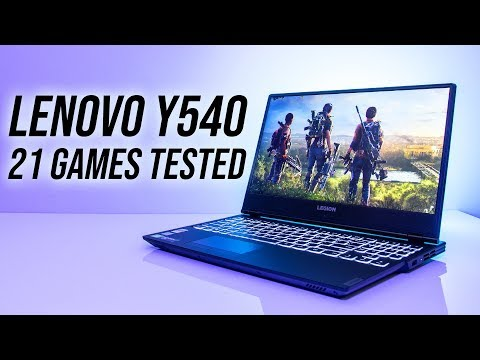 Lenovo Y540 Gaming Laptop Benchmarks - 21 Games Tested!