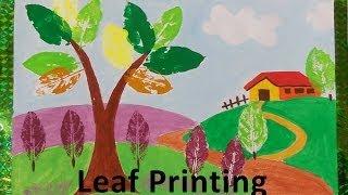 DIY - How to do Leaf Printing