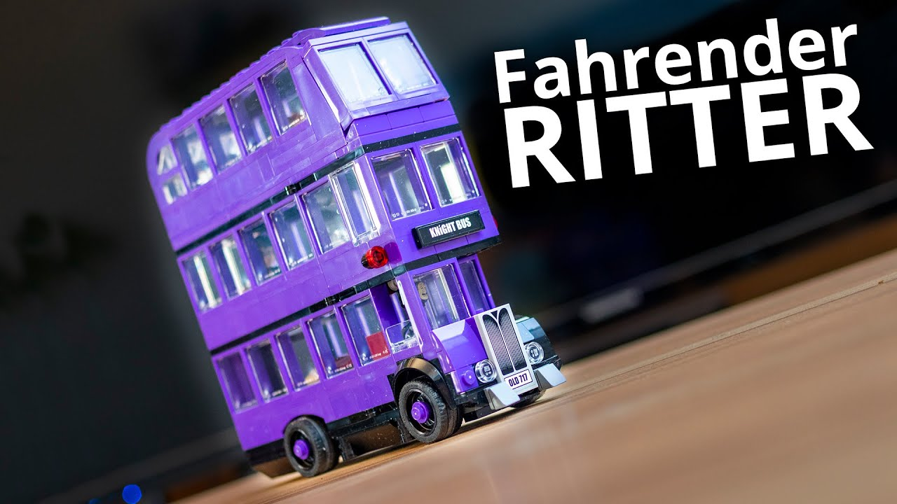 Knight Bus Fahrender Ritter Harry Potter Lego 75957 YouTube