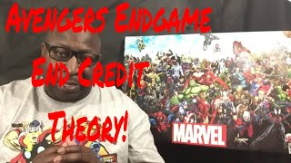 #Marvels Avengers Endgame End Credit Theory!!