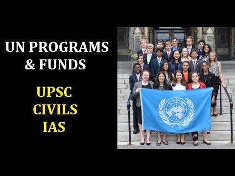 UN programmes and funds explained in English | General studies General knowledge