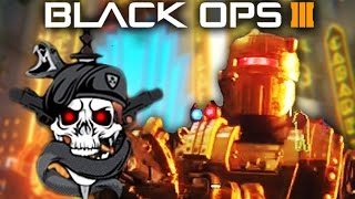 SHADOWS OF EVIL EASTER EGG - DARK OPS ACHIEVEMENTS & UPGRADED CIVIL PROTECTOR (Black Ops 3 Zombies)
