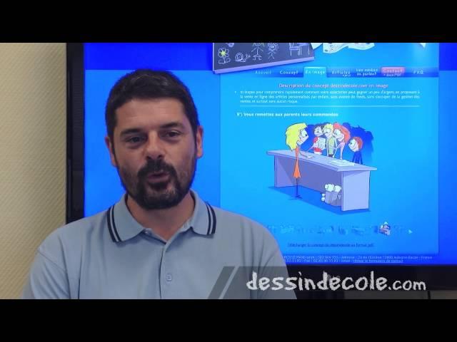 Video BleuBlancZebre / dessindecole.com