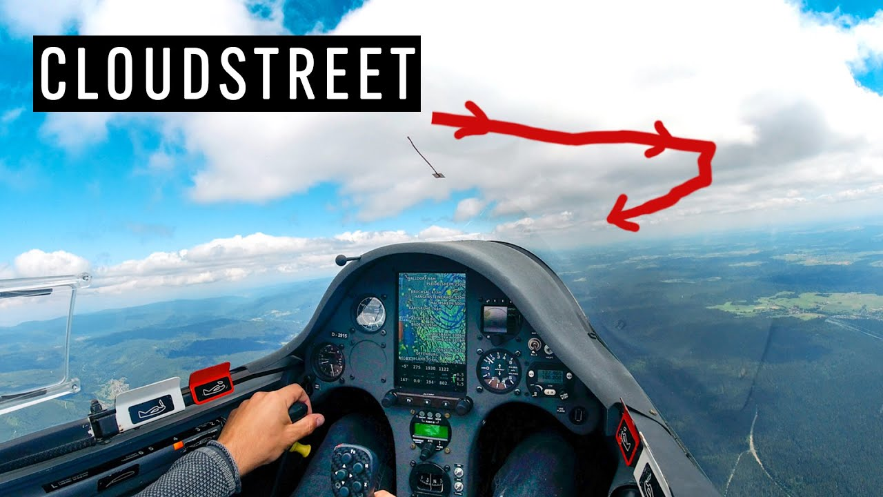 CLOUDSTREET - Pure Flying above Black Forest