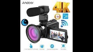 andoer 4K 1080P 48MP - обзор и тест на быструю руку