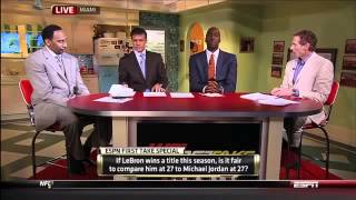 First Takw with John Salley, Skip Bayless and Stephen A Smith