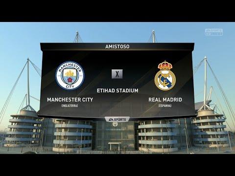 FIFA 17 -  Manchester City x Real Madrid - Gameplay Pedido por Inscritos - Modo Lendário