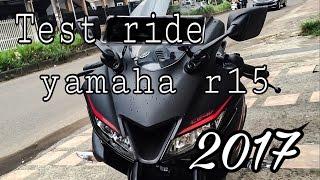 Test ride yamaha r15 2017 #8
