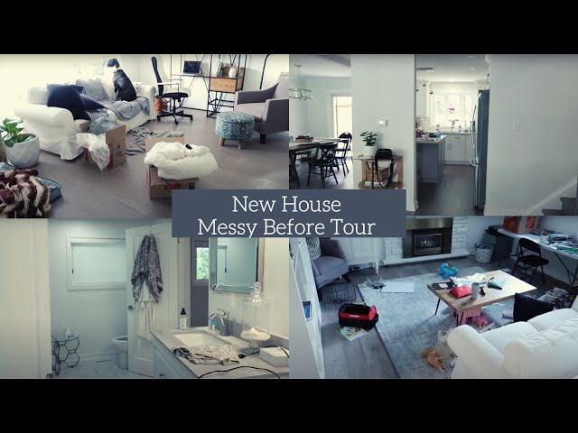 New House Tour | Messy | Before